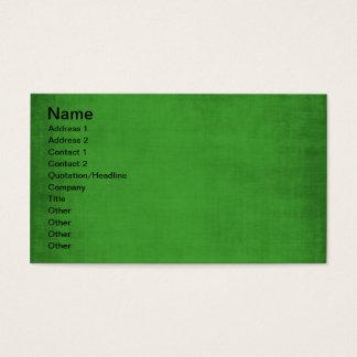 495_green-paper RICH GRASSY GREEN TEMPLATE TEXTURE Business Card