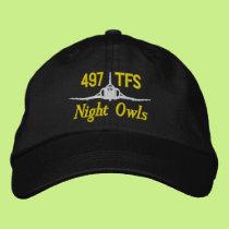 497th TFS Golf Hat