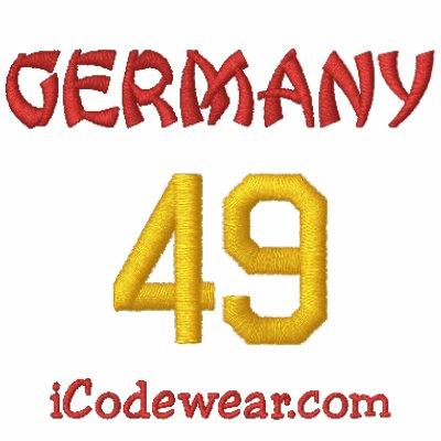 49 Alemania Sudadera Con Capucha