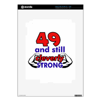 49 Birthday Design Decal For The iPad 2