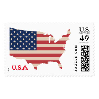 49 Cents US Custom Stamps