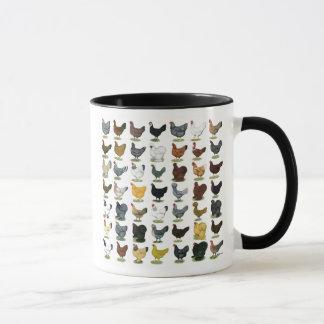 49 Chicken Hens Mug