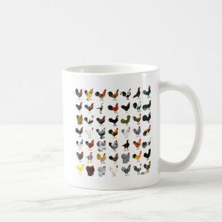 49 gallos tazas de café