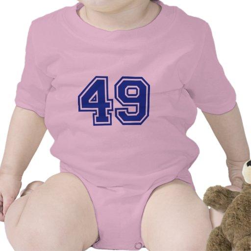 49 - número trajes de bebé