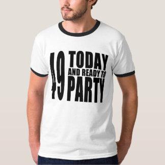 49.o Fiestas de cumpleaños: 49 hoy y aliste para Poleras