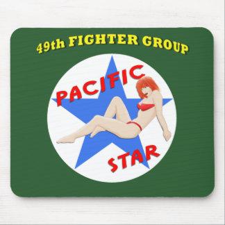 49 o Grupo del combatiente Alfombrillas De Ratón