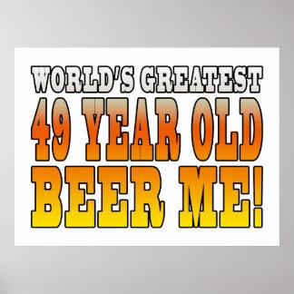 49.os cumpleaños divertidos: Años más grandes de Póster