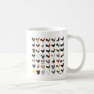 49 Roosters Coffee Mug