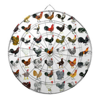 49 Roosters Dartboards