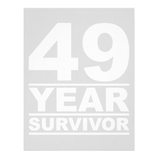 49 year survivor letterhead