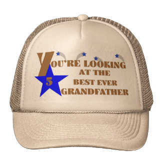 49Best Ever Grandfather Cap Trucker Hat