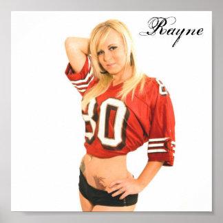 49er, Rayne Poster