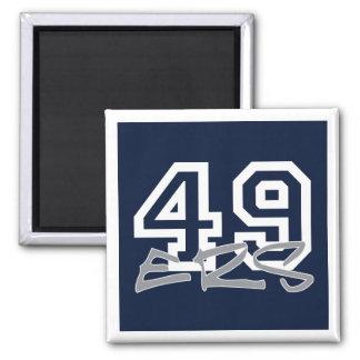 49ers   Calamita Refrigerator Magnet
