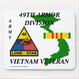 49th Armor Vietnam Mousepad 1/w