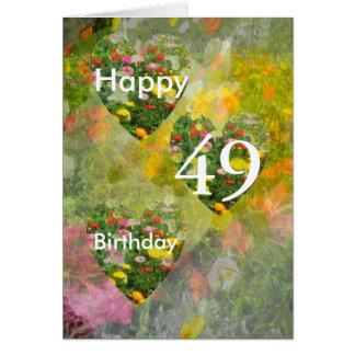 49th Birthday Card