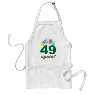 49th Birthday Gifts / Souvenits Adult Apron