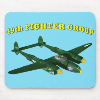 49th fighter Group Mouse Pad