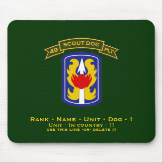 49th IPSD - 199th LIB Mouse Pad