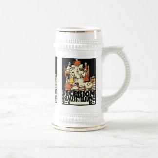 49th Secession Ausstellung friends by Schiele Coffee Mug