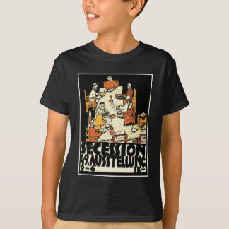 "49th Secession Ausstellung (""friends"") by Schiele T-Shirt"
