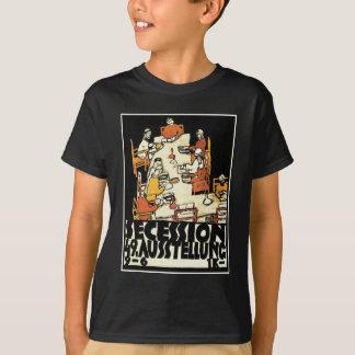 "49th Secession Ausstellung (""friends"") by Schiele T-Shirt"