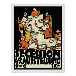"49th Secession Ausstellung (""friends"") Poster"