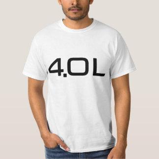 4.0 Litre Tee Shirt