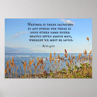 4:12 de los actos ni uno ni otro está allí salvaci póster