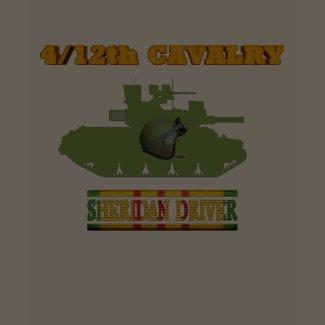 4/12th Cavalry M551 Sheridan Driver Shirt shirt