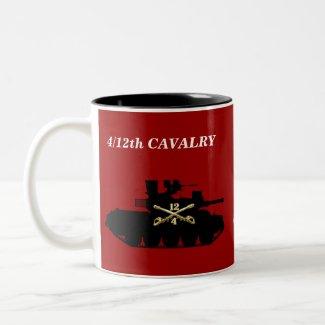 4/12th Cavalry M551 Sheridan Mug mug