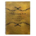 4:13 de los filipenses cuaderno