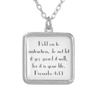 4:13 de los proverbios del estímulo del verso de l joyerias personalizadas