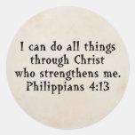 4:13 de Phil de la escritura Pegatinas