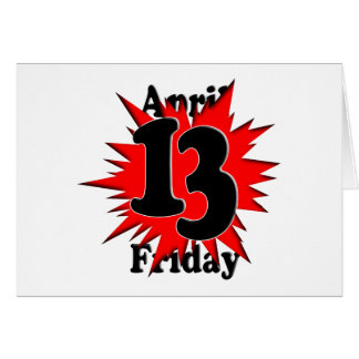 4-13 Friday the 13th Card