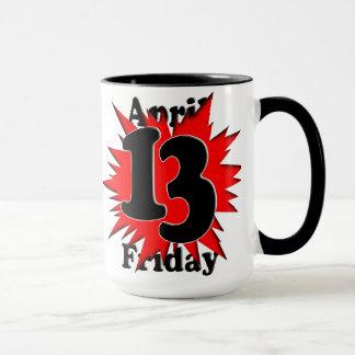 4-13 Friday the 13th Mug