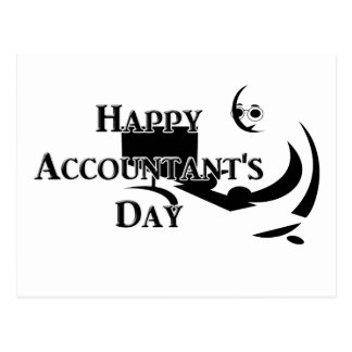 4-15  Accountant's Day Postcard