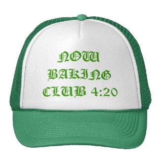 4:20 DEL CLUB AHORA QUE CUECE GORRO DE CAMIONERO