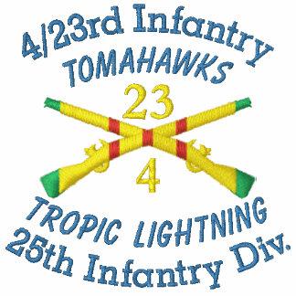 4/23rd Infantry 1st ID VSM Crossed Rifles Shirt