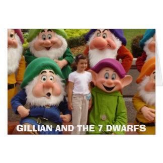 4-24-2006-06, GILLIAN AND THE 7 DWARFS CARD