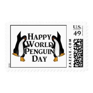 4-25 World Penguin Day Postage