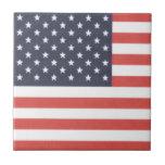 "4,25"" x 4,25"" baldosa cerámica - bandera americana azulejo cerámica"
