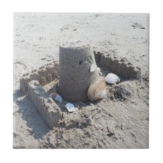 "4.25"" x 4.25"" Ceramic Tile - Castle In The Sun"