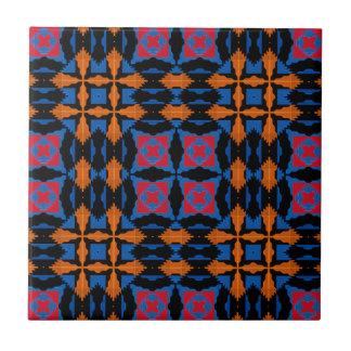 """4.25x4.25"""" tribal/nativo americano ninguna orden azulejo cuadrado pequeño"""