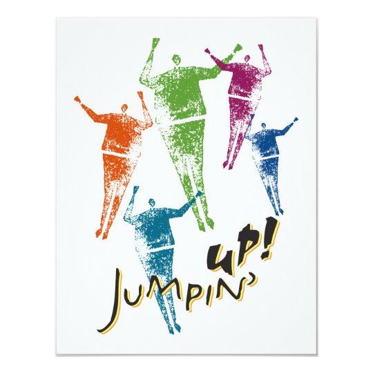 "4.25x5.5 Jumpin"" Up! Invitation"