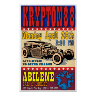 4-26-10 Show Poster