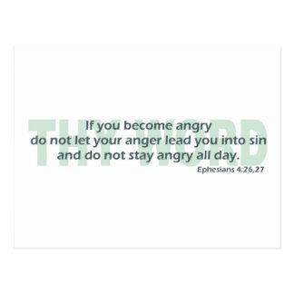 4:26 de Ephesians - 27 Postales