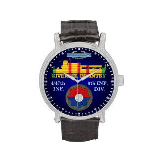 4/47o Inf. 9no Div. Reloj del ATC del CIB