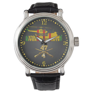 4/47th Inf. Crossed Rifles & ATC(H) Watch