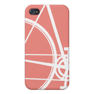 4/4S Salmon Cycle  iPhone 4 Case