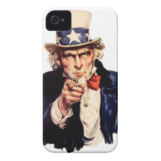 """4/4S """"UNCLE SAM """" marries iPhone iPhone 4 Cover"""